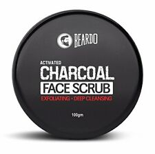 Beardo Activated Charcoal Deep Cleansing Face Scrub | 100g | Free Shipping
