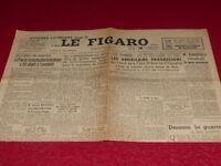 "[ Press WW2 39-45] "" the Figaro "" #78/18 November 1944 Paul Claudel France Talk"