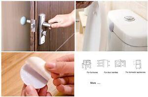 5 x Wall Protector Furniture Protector Stop Door Handle Guard Bumper Stopper