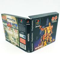 Boitier vide - Boite carton Tekken 1 - Sans jeu ni notice - PS1 / Playstation 1