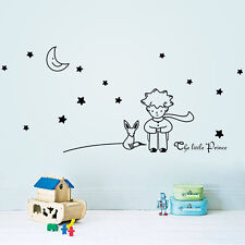THE LITTLE PRINCE Fox Decal Removable Wall Sticker Art Kids Nursery Home Decor