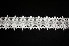 "Venise Lace in White Rayon - 10 yds for $14.99 - 2"" Wide"