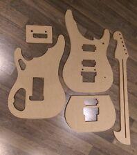 Washburn N4-Style Guitar Template