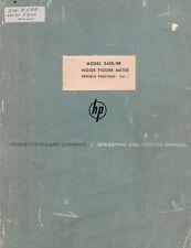 Hp Manual 304b Br Noise Figure Meter