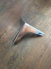 Chrome Sofa Legs - Steel Plinth Legs/Feet for Furniture. Heavy Duty & Strong.