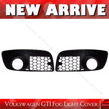 VW GOLF V MK5 GTI JETTA Front Bumper Grille Honeycomb Fog Light Cover Vent