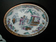 Bates Walker Ashworth Brothers 6369 Chinese Oriental Ladies Dessert Bowl/s (D46)