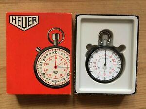 TAG Heuer chronomètre vintage ancien 60's 7 jewels avec boite