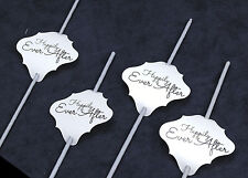 36pc Wedding Sparklers Tags - Happily Ever After - Cream Shimmer Paper