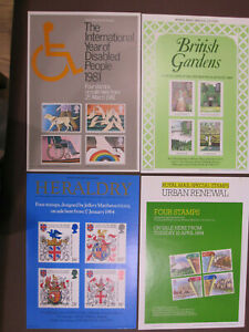 GB - 17 different Royal Mail Advertising Posters - A4 size - period 1981 to 1991