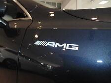 Para Mercedes AMG Pegatina de vinilo en las, gráficos personalizados, A, B, C, E, ML, S-Clase
