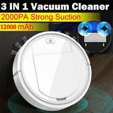 3IN1 Auto Rechargeable Smart Robot Vacuum Dry/Wet Floor Mop Cleaner Sweep Carpet