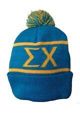 Sigma Chi Knit Beanie Pom Winter Hat