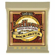 Ernie Ball Earthwood Rock and Blues Bronze Acoustic guitar strings 10-52  - 2008