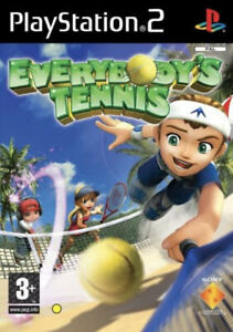 Everybody's Tennis New Factory Sealed Sony Playstation 2 Ps2 Game U.K. Pal