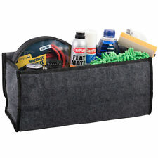 BOOT ORGANISER LARGE CAR VEHICLE CARPET STORAGE BAG TOOLS BOOT TIDY VELCRO