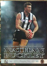 Nathan Buckley 2003 Brownlow - Collingwood Magpies - Collectors Print