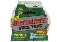 Duck Tape ultimate Ruban adhésif transparent 50mm x 20m étanche de la technologie de couche tripal