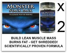 2x Lean Muscle X Ripped Building Stack Pills Bodybuilding Growth  6 Six Pack Abs