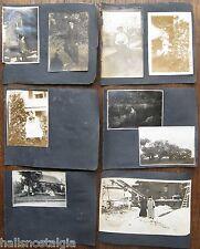 20 Photos 1905 horse buggy, men with medals, SS Belfast, Winterport Maine, etc.