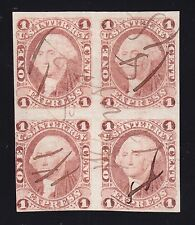 US R1a 1c Express Revenue Used Block of 4 SCV $650