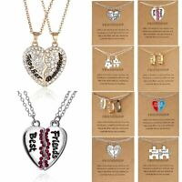 Fashion Women Owl Cat Animal Paper Card Short Pendant Necklace Friend Party Gift