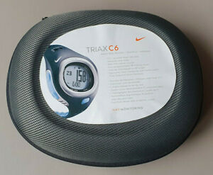 NIKE Triax C6 Heart-Rate-Monitor / Pulsuhr - in OVP - Guter Zustand