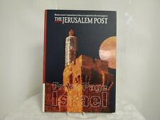 The Jerusalem Post Front Page Israel Book History Jewish Nation illustrated LN
