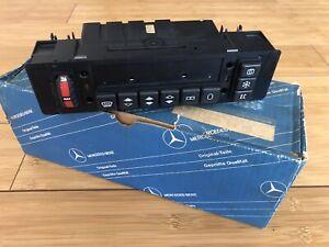 NEW NOS Mercedes Benz W201 Push Button Climate Control Unit OEM A2018300385