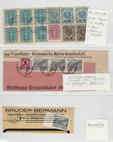 austria stamps cover fronts ref 12196