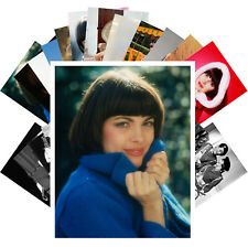 Postcards Pack [24 cards] Mireille Mathieu French Pop Music Vintage CC1301