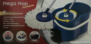 Mega Mop Reinigungssystem / Wischer Wassereimer Mop Bodenwischer wechselbar