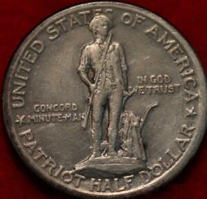 1925 Lexington Concord Commemmorative Half Dollar