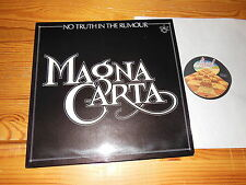 MAGNA CARTA - NO TRUTH IN THE RUMOUR / GERMANY-LP 1979 MINT-/VG+
