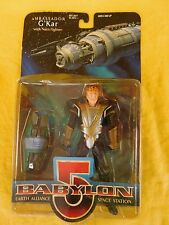 Babylon 5 Ambassador G'Kar w/Narn Fighter (1997) Nos Wb toys Earth Alliance