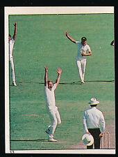 1983 Scanlens Cricket Sticker unused number 13 Rodney Hogg