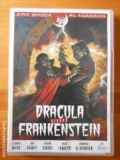 DVD DRACULA VERSUS FRANKENSTEIN - AL ADAMSON, LON CHANEY (F4)