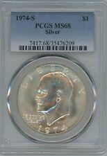 1974-S $1. Eisenhower Ike Silver Dollar PCGS MS-68