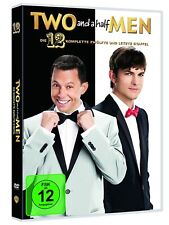 Two 2 and a Half Men Complete Season 12 Twelth Final TV Serie 3 DVD Region 2
