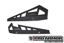 Pro Armor Rock Metal Flat Sliders Matte B 14-19 RZR XP1000 XP1K 900S P141221SLR