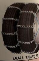 *10MM* 10R22.5 265/75R22.5 275/80R22.5 295/75R22.5 Dual Snow Tire Chains 437