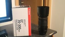 Canon EF 70-300mm f/4-5.6 IS Zoom Lens with Calumet UV Filter and Lens Hood