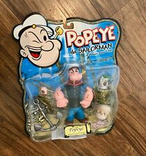 Mezco 2001 POPEYE The Sailorman Action Figure New on Card