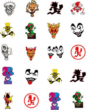 ICP Insane Clown Posse Waterslide /Water Transfer Nail Decals/Nail Art
