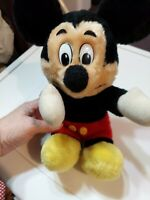 Disney Mickey Mouse Plush 10 inch Doll Toy Vintage