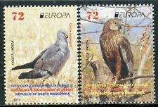 327 - MACEDONIA 2019 - Europa - National Birds - MNH Set