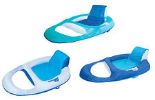 SwimWays Spring Float Recliner Floating Pool Lounge Chair (3-Pack) | 13018