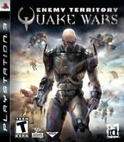 PS3 Enemy Territory Quake Wars Video Game Playstation NTSC T421