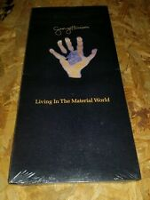 GEORGE HARRISON Sealed LONG BOX Living in the Material World X Beatles 1991