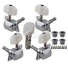 5pcs Semiclosed Banjo Machine Head Tuning Tuner Peg w/ Bushing Guitar Parts